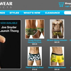 Underwear Products – Redesigned Site