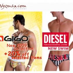 Wyzman – New Gigo and Diesel Swim