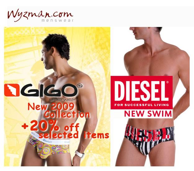 Wyzman - New Gigo and Diesel Swim