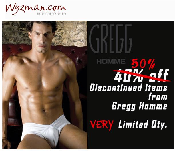 Wyzman - 50% off Gregg Homme