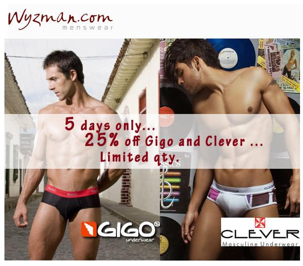 Wyzman - 25% off Gigo and Clever