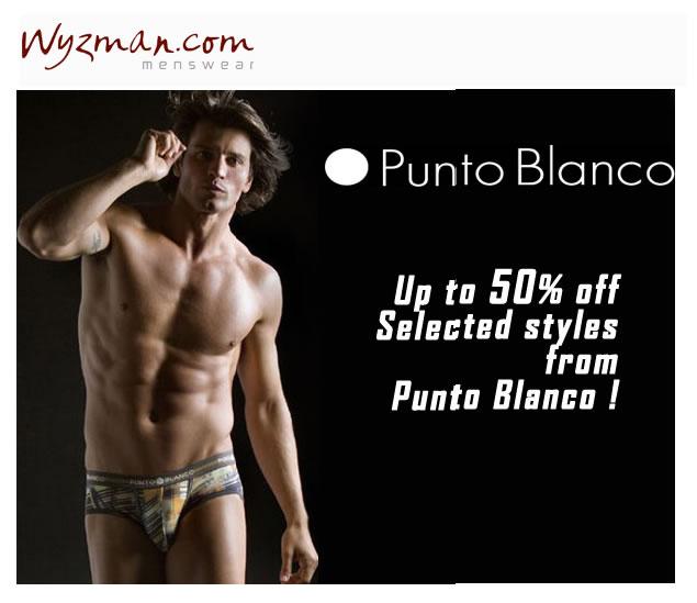 Wyzman - 50% off Select Punto Blanco