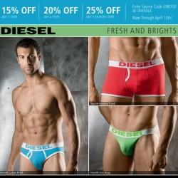 UnderGear – New Diesel and Calvin Klein Sale