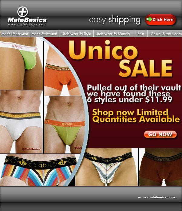 MaleBasics - Unico Sale