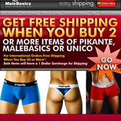 Male Basics – Free Shipping