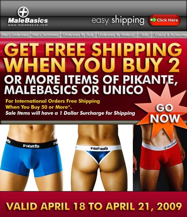 Male Basics - Free Shipping