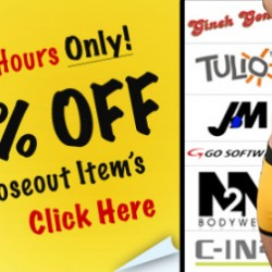 NuWear – 50% all Close out Items