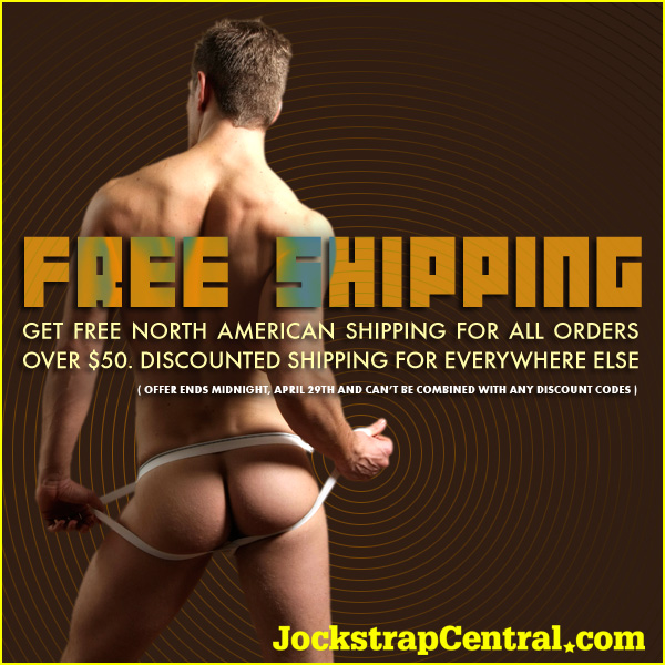 Jockstrap Central - Free or Seduced Shipping