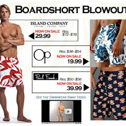 His Room – Board Shorts Sale