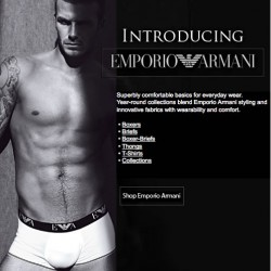 His Room – New Emporio Armani