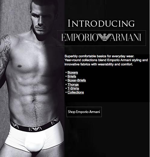 His Room - New Emporio Armani