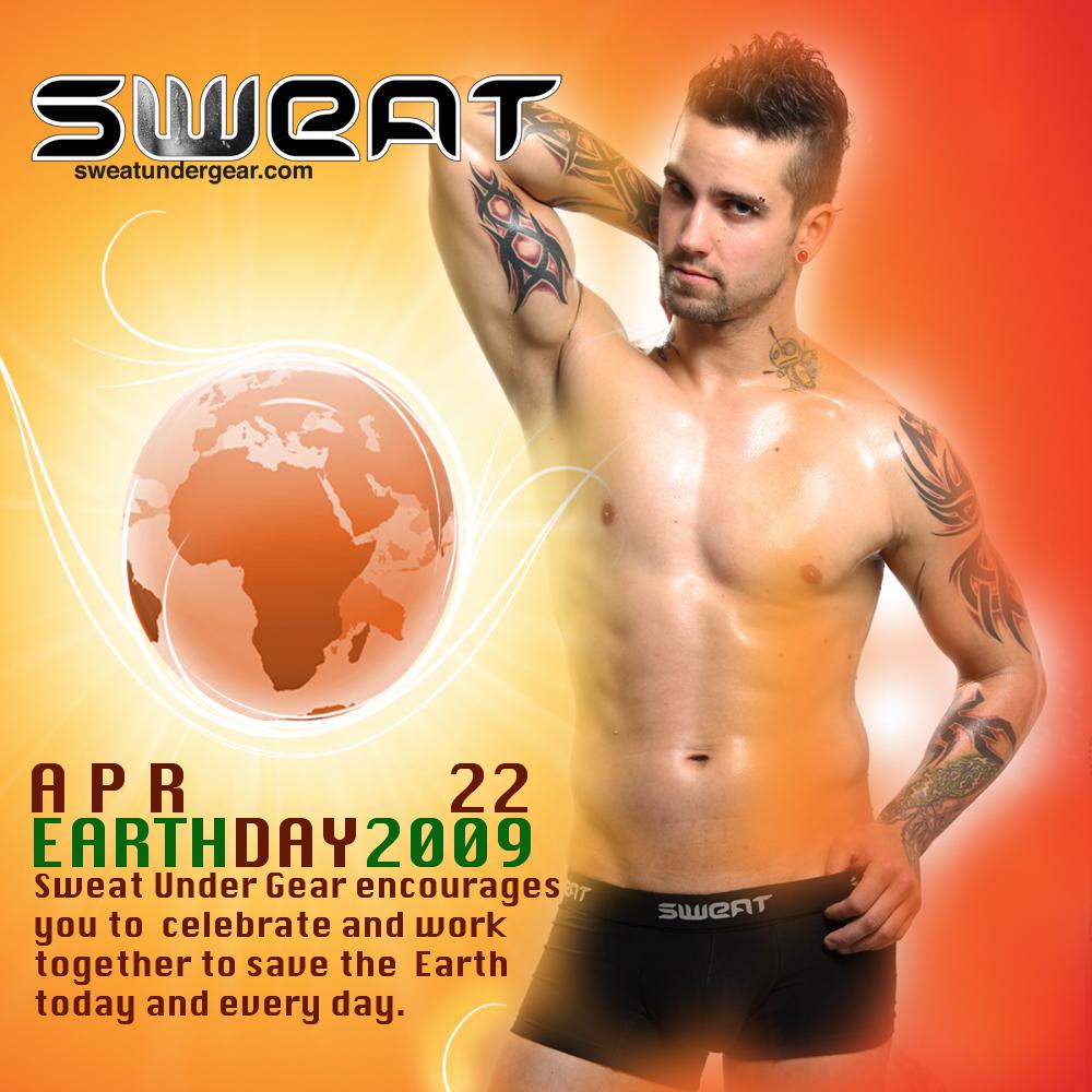 Sweat Under Gear - Happy Earth Day
