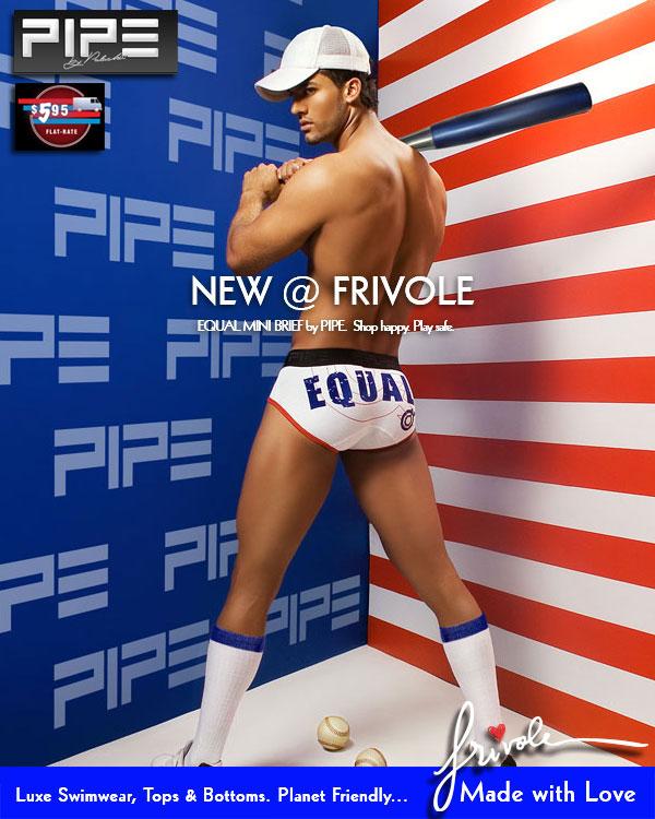 Frivole - New Pipe Equal Mini Brief
