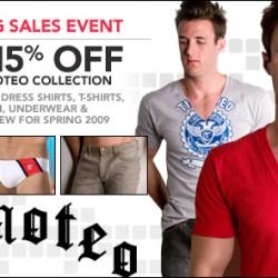 10 Percent – Timoteo Spring Sale