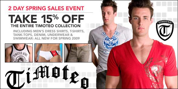 10 Percent - Timoteo Spring Sale