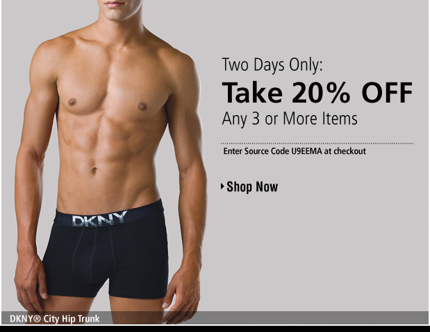 UnderGear - Introducing DKNY