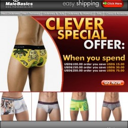 Male Basics – 3 Clever Promos