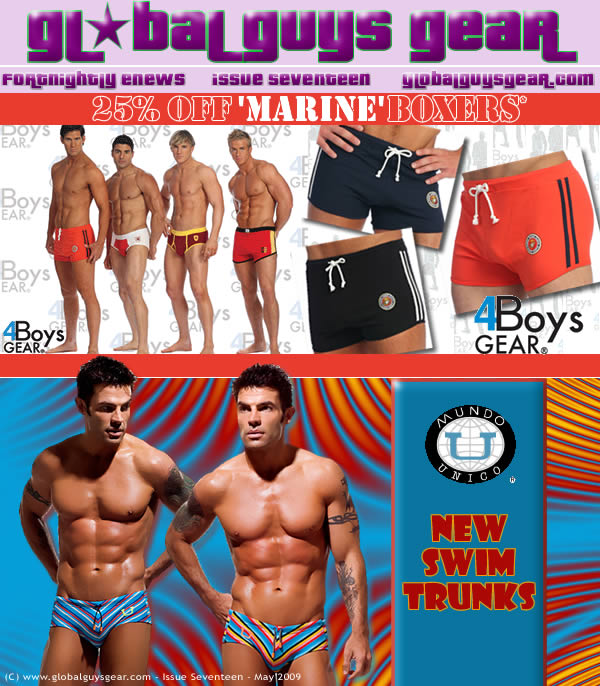 Global Guys Gear - Newsletter Issue 17
