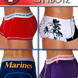 Cityboyz Fashions – New Andrew Christian Swimwear