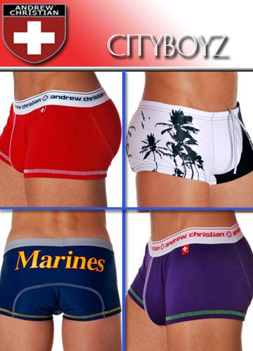 Cityboyz Fashions - New Andrew Christian Swimwear