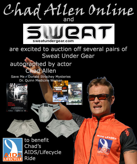 Chad Allen - Acutions of Sweat Unde Gear