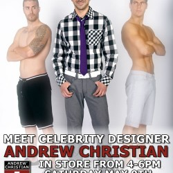 Andrew Christian – Atlanta Visit