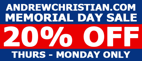 Andrew Christian - Memorial Day Sale!