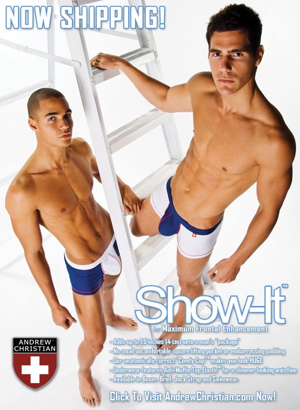 Andrew Christian - Now shipping the Show-It Line