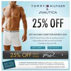 Fresh Pair – Fathers Day Sale on Tommy and Nautica