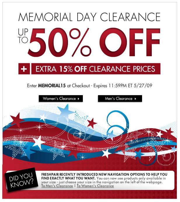 Fresh Pair - Clearance Sale