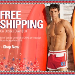 UnderGeaer – Free Shipping on Memorial Day Weekend