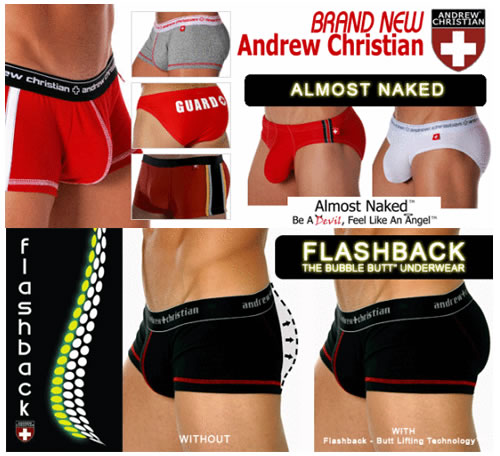 NuWear -  New Andrew Christian