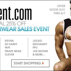 10 Percent – Annual Underwear Sale