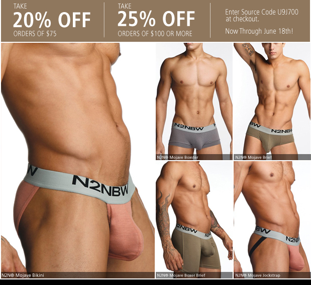 UnderGear - Save up to 25% off and New N2N