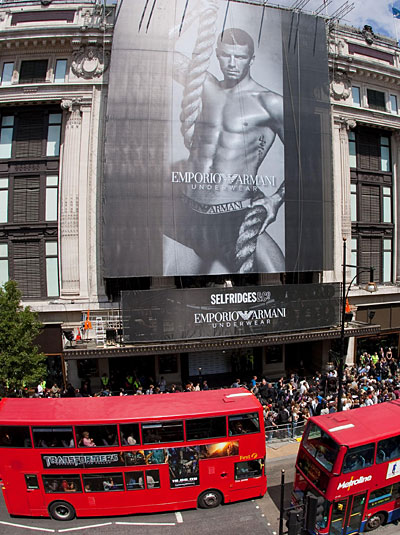 Emporio Armani  - David Beckham the face of the new campaign