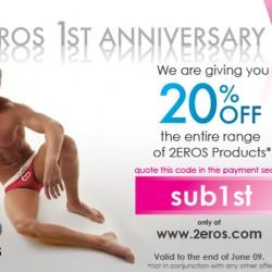 2EROS – 1 Year Anniversary