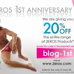 2EROS – 1st Anniversary!