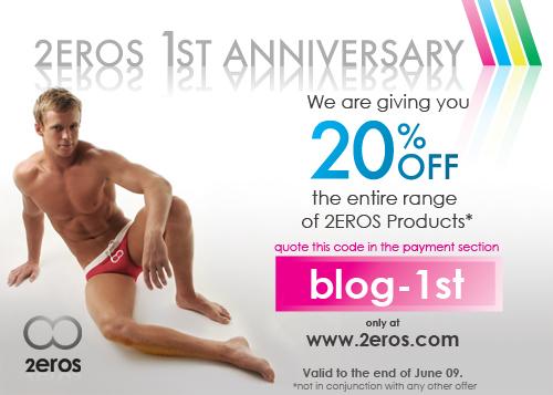 2EROS - 1st Anniversary!