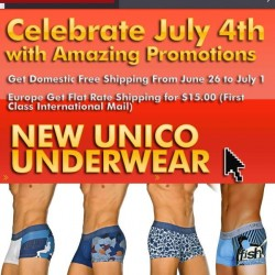 Male Basics – Celebrate the 4th