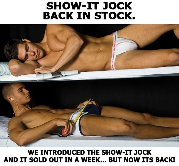 Andrew Christian - Show-it Jock Back in Stock