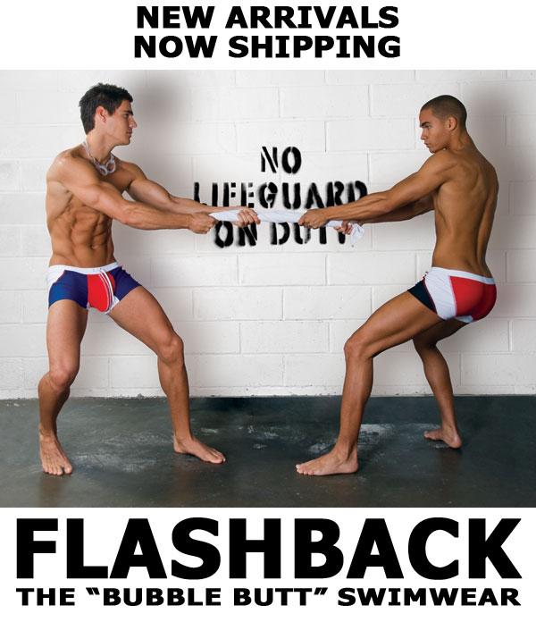 Andrew Christian - Flashback Swimwear now Shipping
