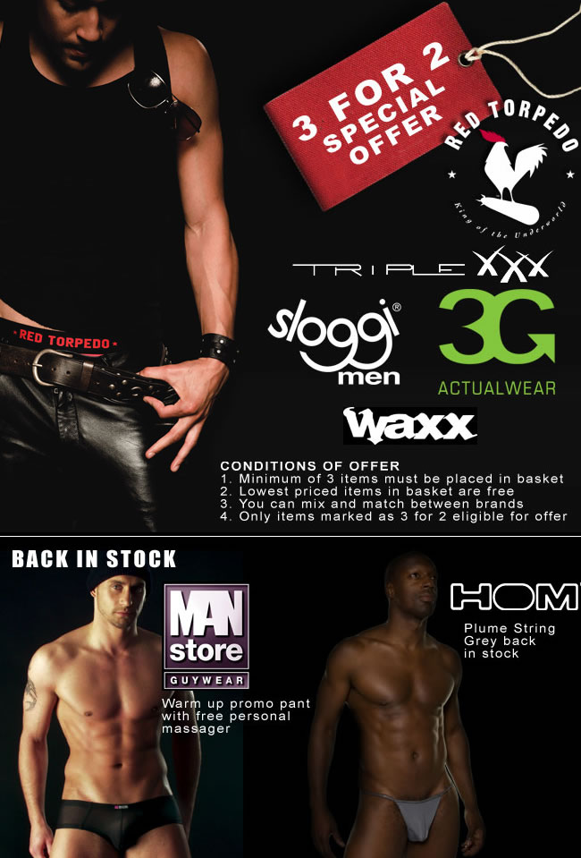 Dead Good Undies - 3 for 2 Special Offer