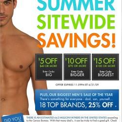 Fresh Pair  – Summer Site Wide Sale