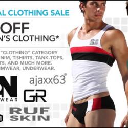 10 Percent – Sale on All Men's Clothes