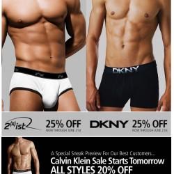 UnderGear – Big Savings on DKNY, 2(x)ist and CK