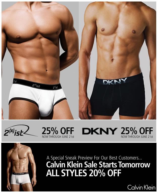 UnderGear - Big Savings on DKNY, 2(x)ist and CK
