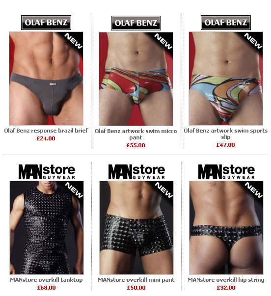 Dead Good Undies - New Olaf Benz and Man Store