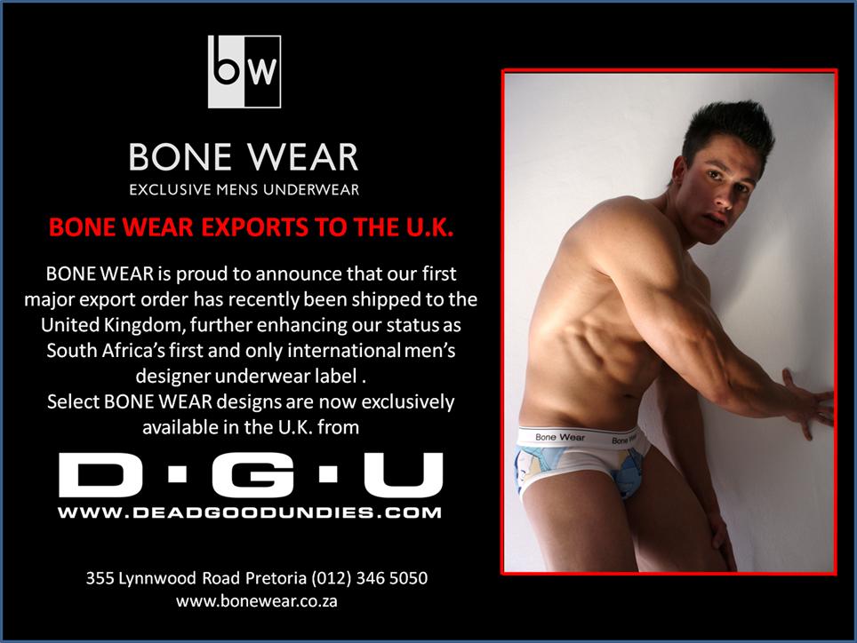 Bone Wear - Exclusively at Dead Good Undies