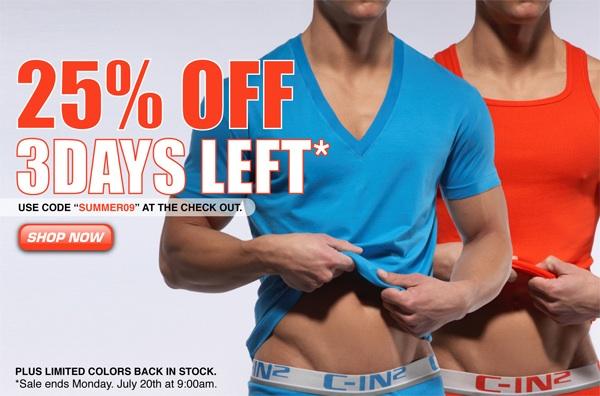 C-IN2U 25% off Sale