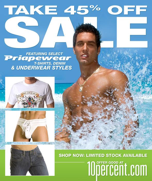 10 Percent.com Priape Sale